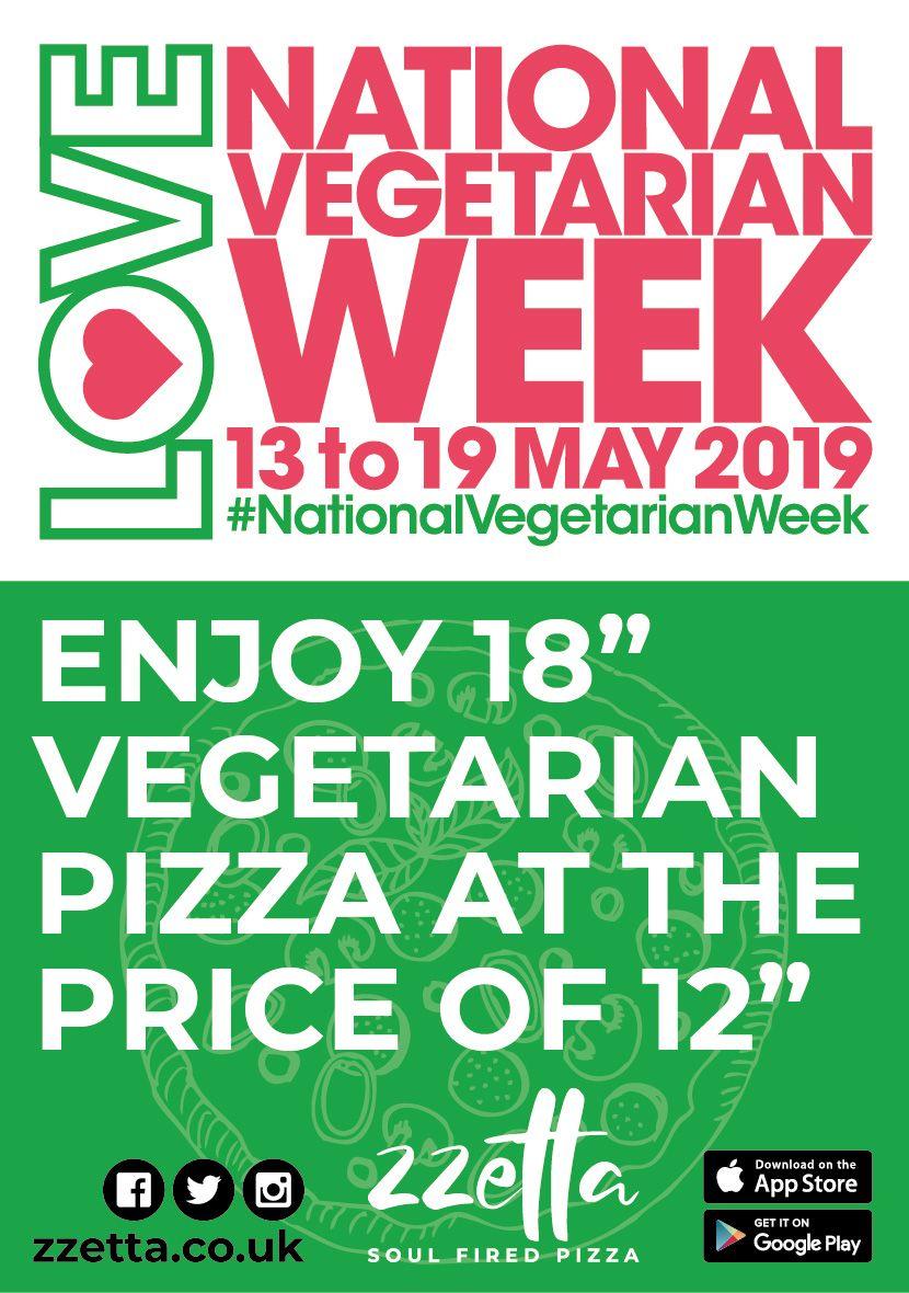 National Vegetarian Week 2019